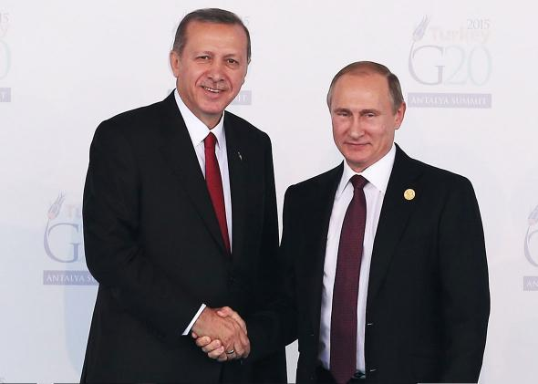 Putin Erdogan.
