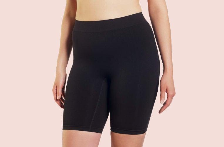 Thigh Society Ultra High Rise Shorts.