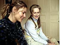 Clare Danes and Meryl Streep in The Hours