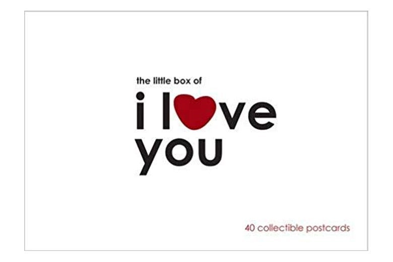The Little Box of I Love You postcards