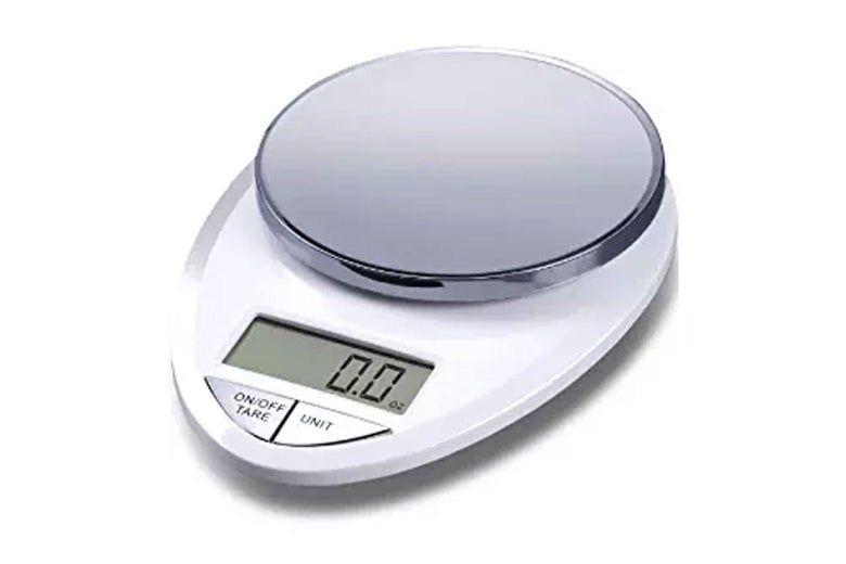 Kitchen scale.