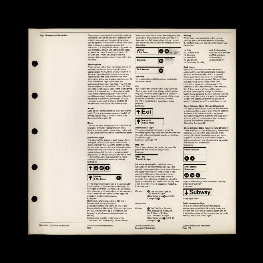 Mta Subway Map Permission Of Usage.Nyc Transit Authority Graphics Standards Manual By Massimo Vignelli