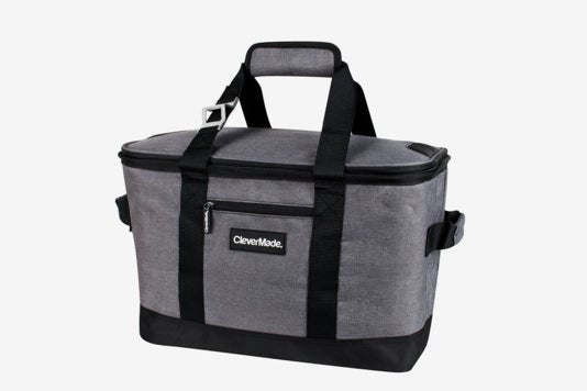 CleverMade SnapBasket 50 Can, Soft-Sided Collapsible Cooler.
