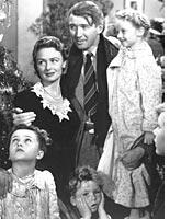 Jimmy Stewart in It's a Wonderful Life. Click image to expand.