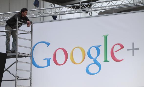 Google+ sign