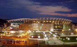 1 Paul Brown Stadium in 2005. Click image to expand.