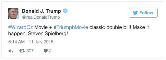 #WizardOz Movie + #TriumphMovie classic double bill! Make it happen, Steven Spielberg!