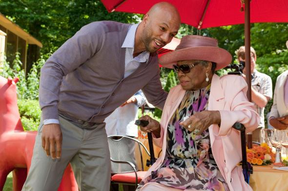 Maya Angelou and Common