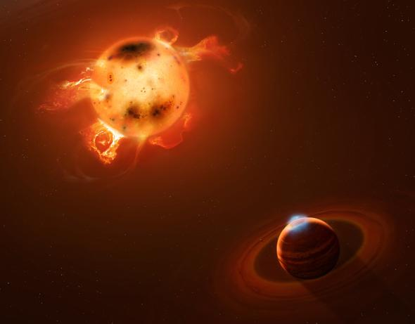 Two new planets show hot Jupiters can migrate early