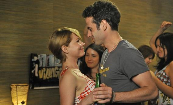Michelle Williams and Luke Kirby in Take This Waltz.