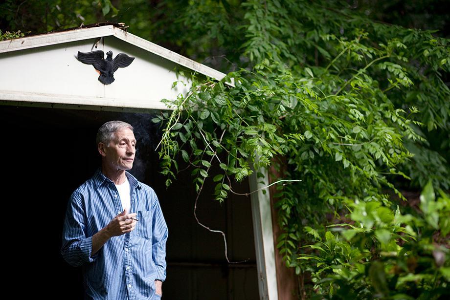 John In His Backyard Shed, 2010