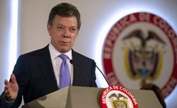 Colombia's President Juan Manuel Santos. Click image to expand.