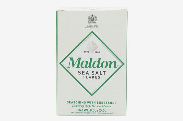 Maldon Sea Salt Flakes, 8.5 Ounce Box.