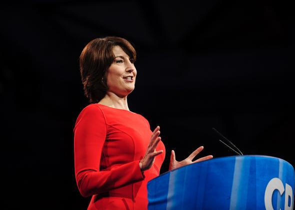 Rep. Cathy McMorris Rodgers speaks at the Conservative Political Action Conference on March 16, 2013, in National Harbor, Md.