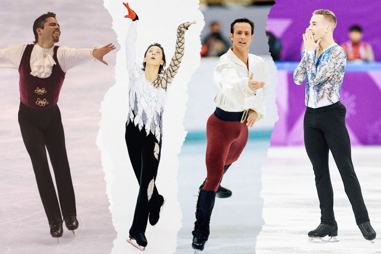 Rudy Galindo, Johnny Weir, Brian Boitano, and Adam Rippon.