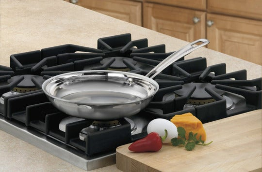 Cuisinart MCP22-20N MultiClad Pro Stainless 8-Inch Open Skillet.