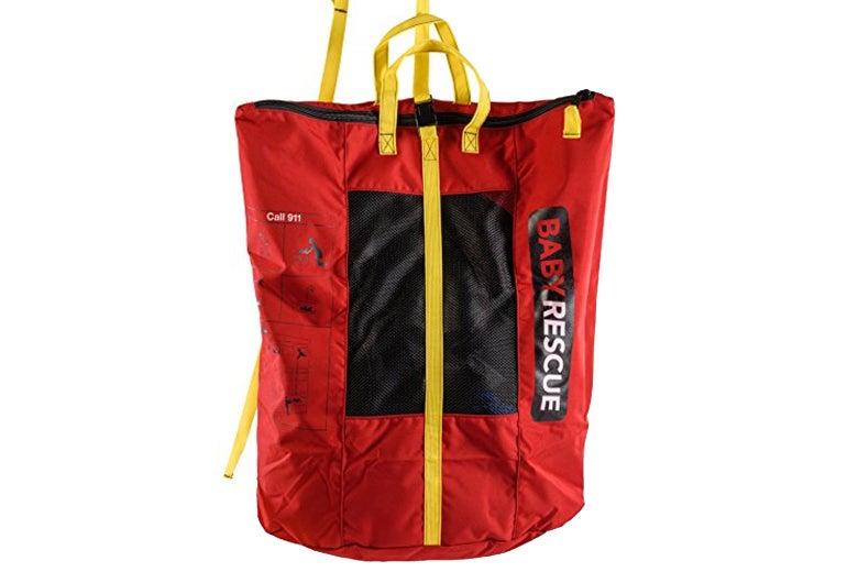 Baby rescue bag.