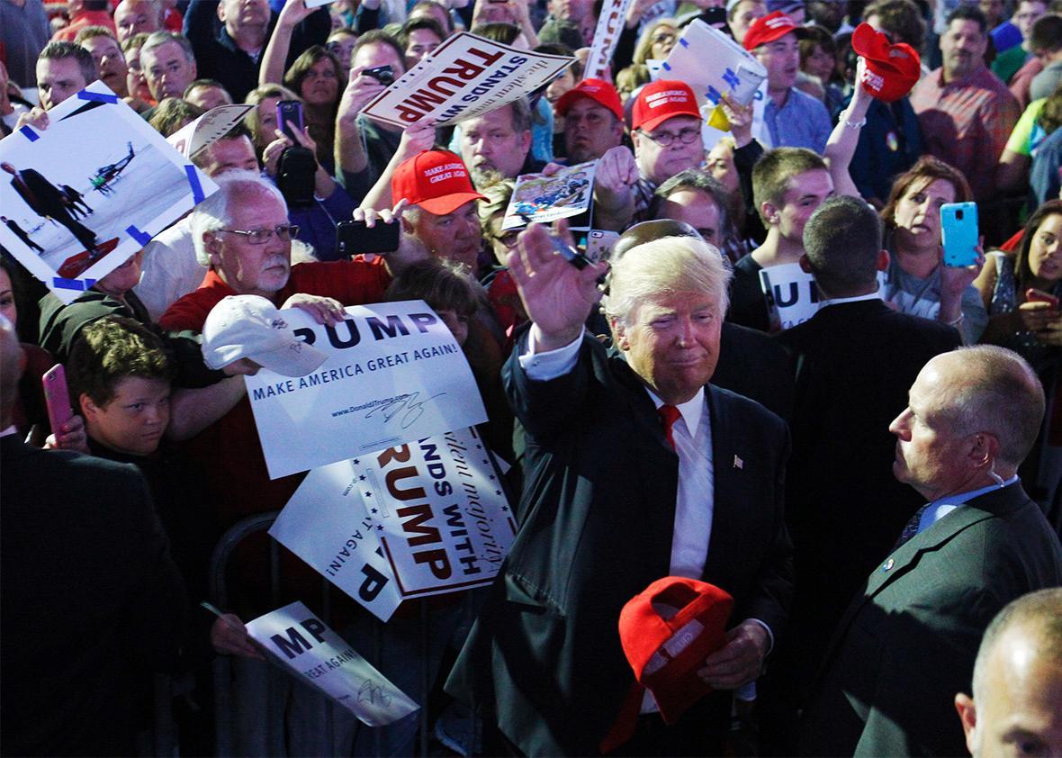 Trump in Indiana