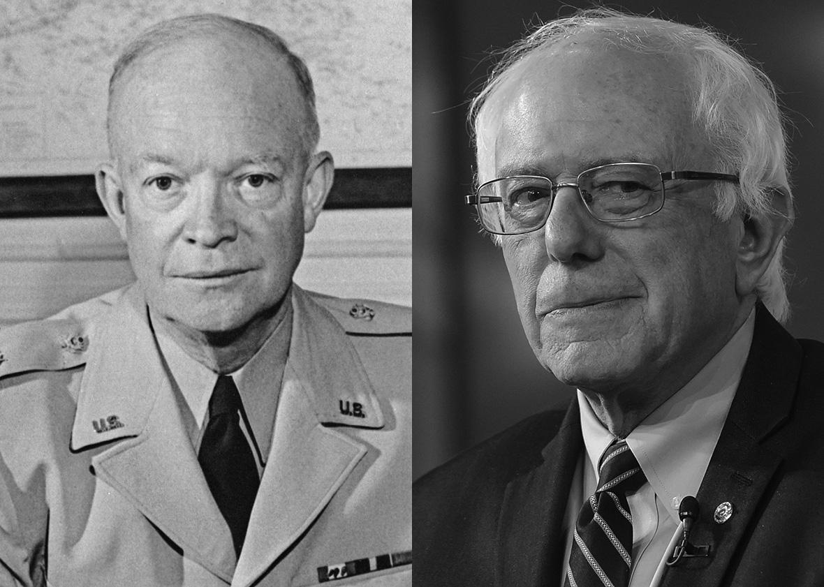 Bernie Sanders Dwight Eisenhower