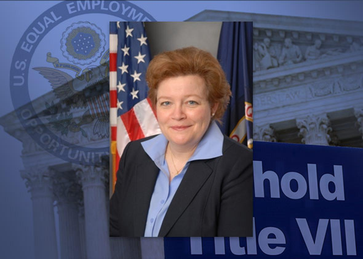 EEOC Commissioner Victoria Lipnic, a Republican, currently serves as acting chair of the agency.