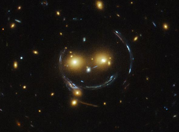 Smile for the Cosmic Lens!
