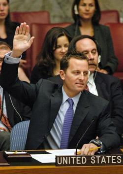 Richard Grenell, national security spokesperson for Mitt Romney.