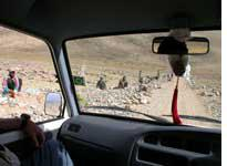 Gangs from the Indian state of Bihar work on building roads throughout Ladakh