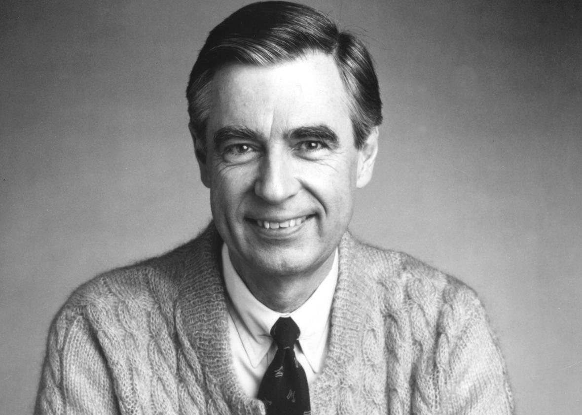 Fred Rogers, The Host Of The Children's Television Series, 'Mr. Rogers' Neighborhood.'