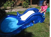 Banzai Slide 'N Splash Whale Pool