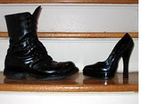 Footwear of Maj. Felix and Lady Oscar