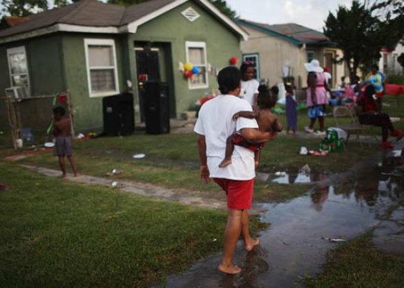 flooded during Hurricane Katrina.
