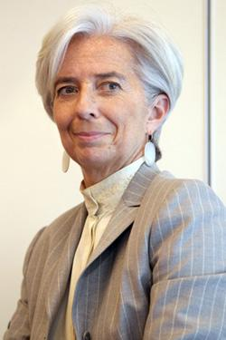 Christine Lagarde. Click image to expand.