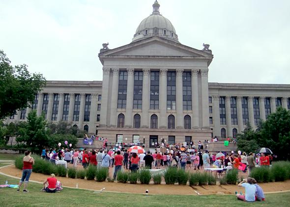 Pro choice rally, April 28, 2012
