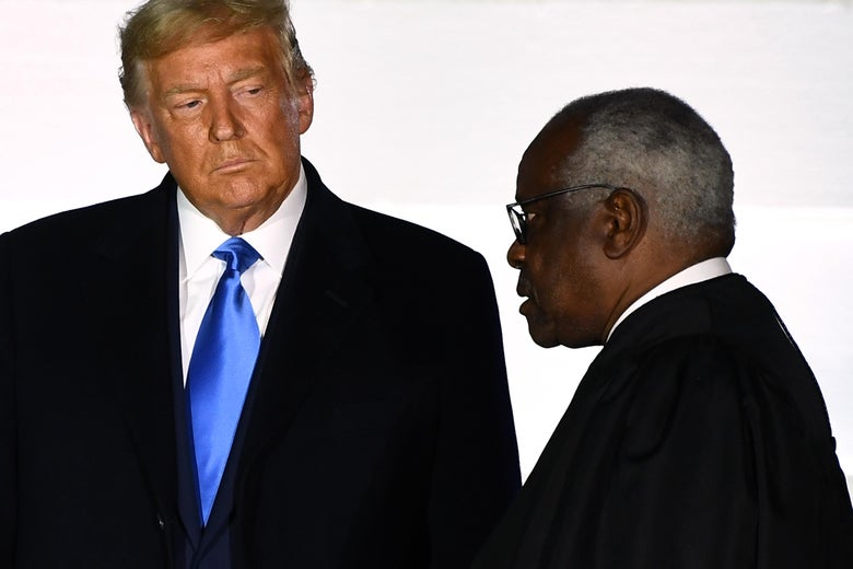 Clarence Thomas Promotes Trump's Voter Fraud Lies in Alarming Dissent