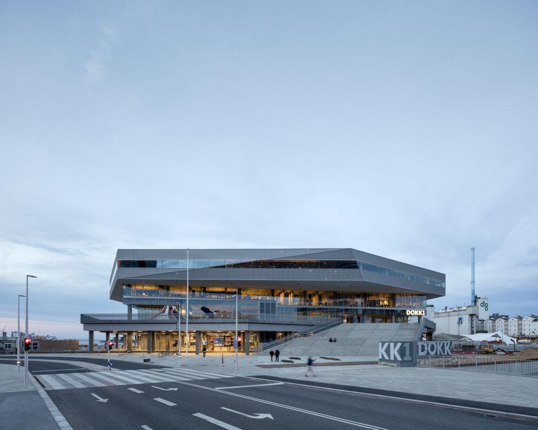 Schmidt Hammer Lassen Architects_Dokk1_exterior