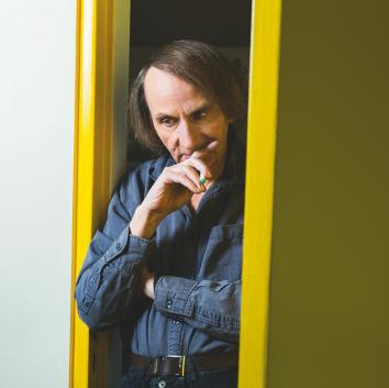 Author Michel Houellebecq.