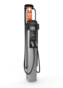ChargePoint this week will announce its new CT4000 electric-vehicle charger, the first AC charger to let you charge two cars at once from a single circuit.