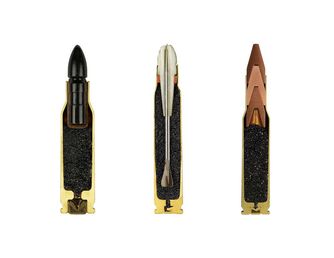 "Ammunition cross-sections from the series ""AMMO"", 2012"
