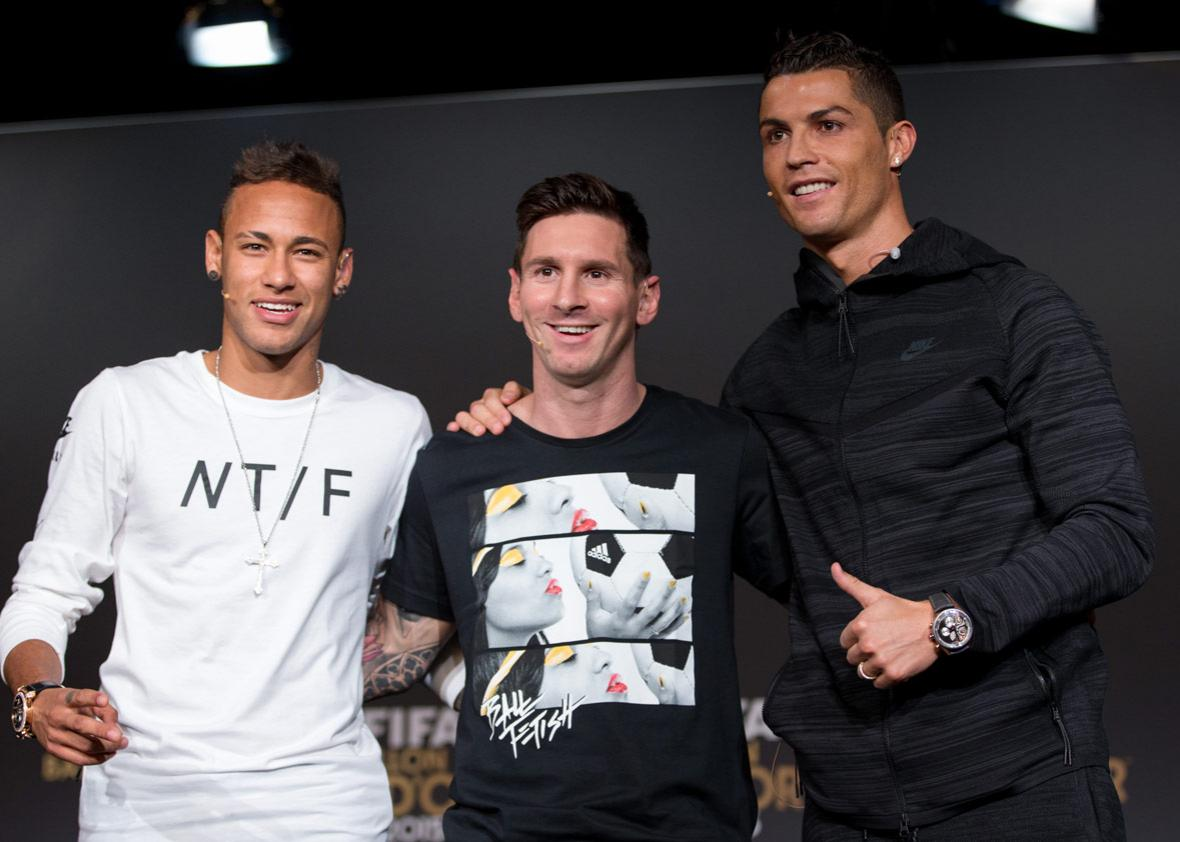 detailed look 2c042 f9855 Will Neymar ever overtake Messi and Ronaldo as the world's ...