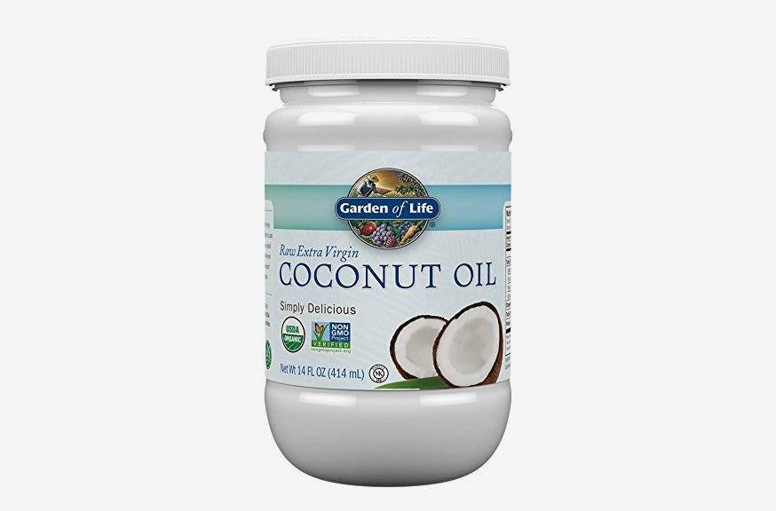 Garden of Life Organic Extra Virgin Coconut Oil.