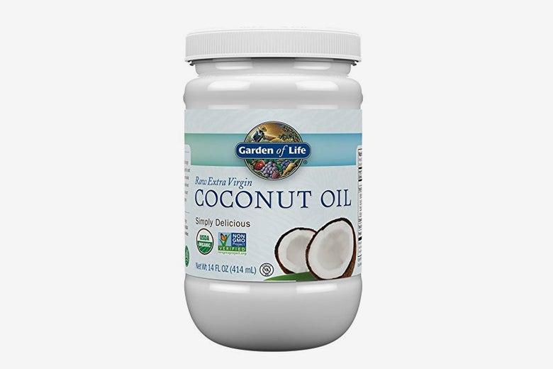 Garden of Life Organic Extra Virgin Coconut Oil.
