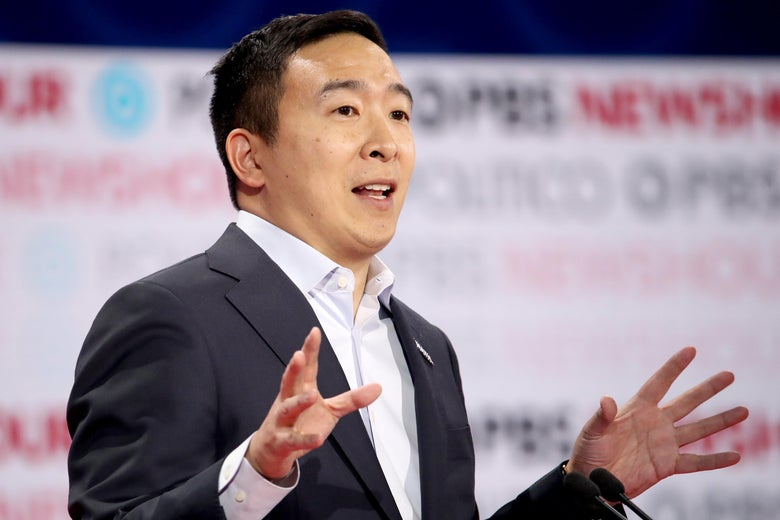 Andrew Yang Wants You to Own and Sell Your Data