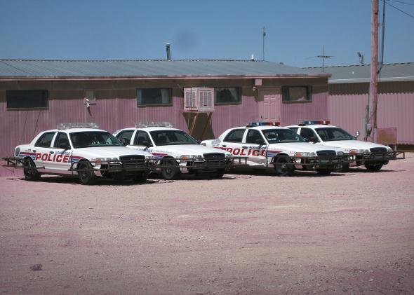 Albuquerque Police EVOC Vehicles.