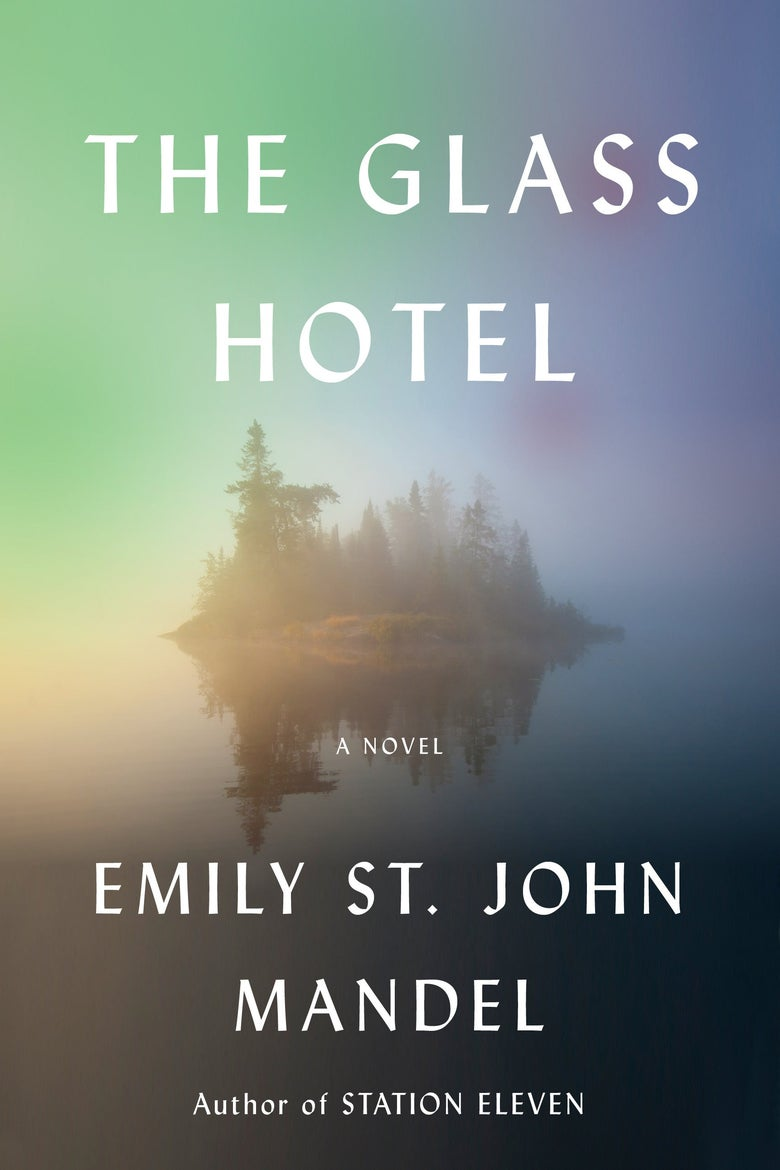 The cover of The Glass Hotel.