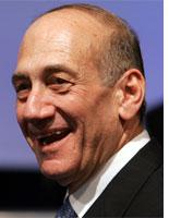 Israeli Acting Prime Minister Ehud Olmert. Click on image to enlarge.