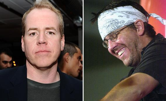 Bret Easton Ellis and David Foster Wallace