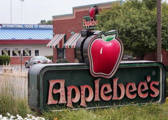 Applebee's tablets at tables