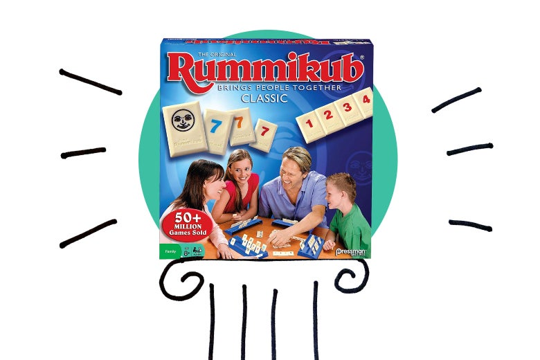 Rummikub allows little kids to play with adults and everyone