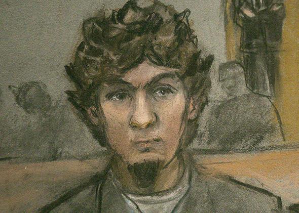 Dzhokhar Tsarnaev, April 8, 2015