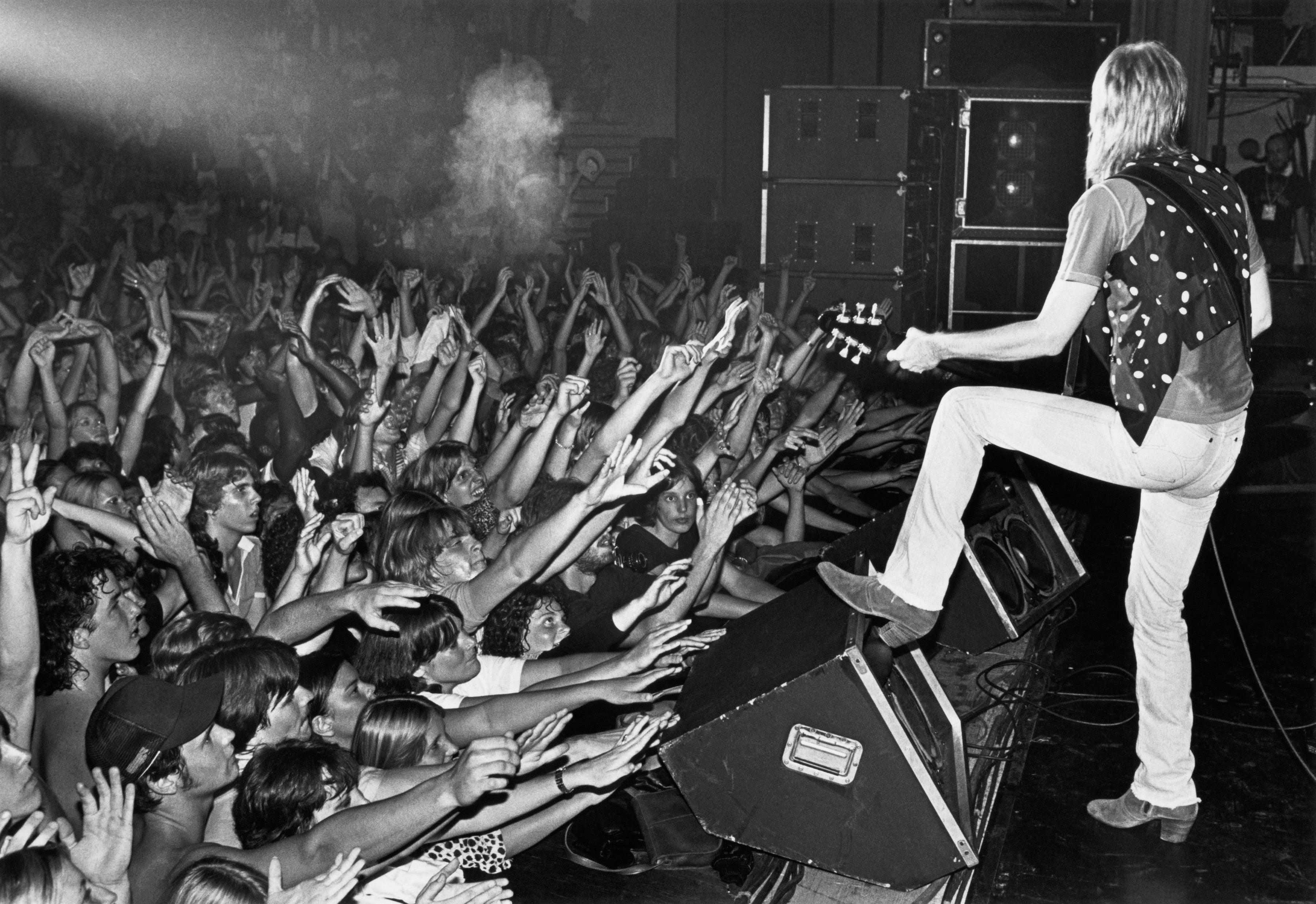 Tom Petty, Santa Cruz, California, 1980